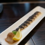 Torched mackerel sashimi | Photo: Nick Lee