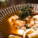 Ankake udon with grilled shrimp | Photo: John Tan