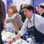 Chef Ivan Tarazona and team from Celestin