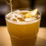Smoked Peach Bourbon Sweet Tea with Knob Creek Bourbon | Photo: John Tan