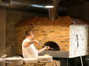 The pizza oven | Photo: Nick Lee