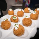Pumpkin Arancini and Cocoa Nib Aioli