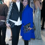 Christine Faulhaber, Susan Langdon at the TFI Press & Buyers Brunch