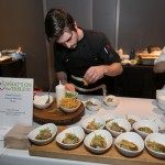 """Masa Ball Soup"" Chicken and Corn Dumpling with Cilantro and Broth by David and Lanny MacLeod (Victor)"