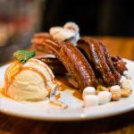 Churros Poutine and Sweet Milk Ice Cream | Photo: John Tan