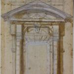 Michelangelo: Study for the Porta Pia in Rome