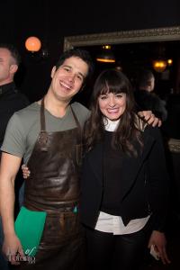 Andres Marques (Fonda Lola) with Jennifer Love (Duet PR)