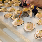 Oyster bar at the Pearl Moon Lounge