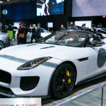 Jaguar 2016 F-Type Project 7 boasting 575 hp and a 0-100km/h speed of 3.9 seconds.