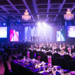 The setup of the JUNO Awards Gala