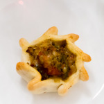 Roasted vegetable empanada