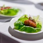 Modern sashimi - BC tuna with maple syrup, balsamic, and tamari   Sushi Making for the Soul