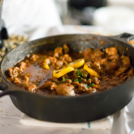 Chicken tagine with seven vegetable couscous   Annona
