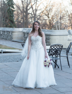 The beautiful bride, Jennifer Carter