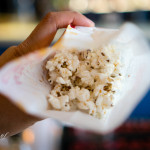 Bacon & smoked scallop popcorn | Splendido