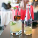 Bourbon 51 with bourbon, lemon, mint, simple syrup