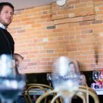 Alamos Winemaker Felipe Stahlschmidt makes an introduction.