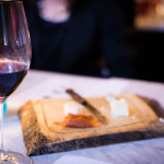 Cheese board with Alamos Malbec