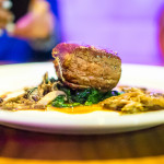 Vitello alla siciliana | Sous vide veal tenderloin with sautéed mushrooms, spinach and marsala sauce