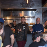Trevor Lui (Kanpai Snack Bar) and Jim Poris (Food Arts)