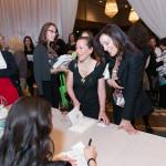 Lainey Lui signing books