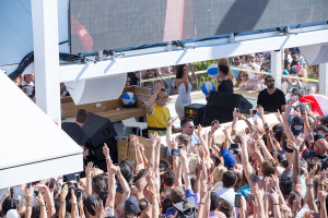 All the hands up for Tiesto