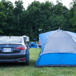 My humble little tent with the 2016 Acura ILX
