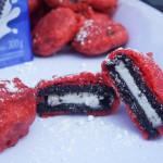 Deep Fried Red Velvet Oreos (The Funnel Cake Shop, Food Building)