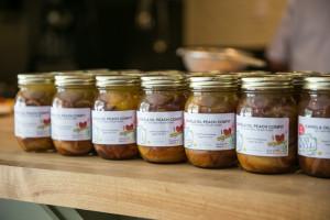 Canola Oil Peach Confit made by Adam Hynam-Smith, El Gastronomo Vagabondo